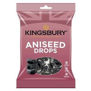 Kingsbury Aniseed Drops 160g - Bonbons Anis-Geschmack