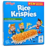 Kelloggs Rice Krispies Cereal & Milk Snack Bars Reisflocken-Riegel mit Milch