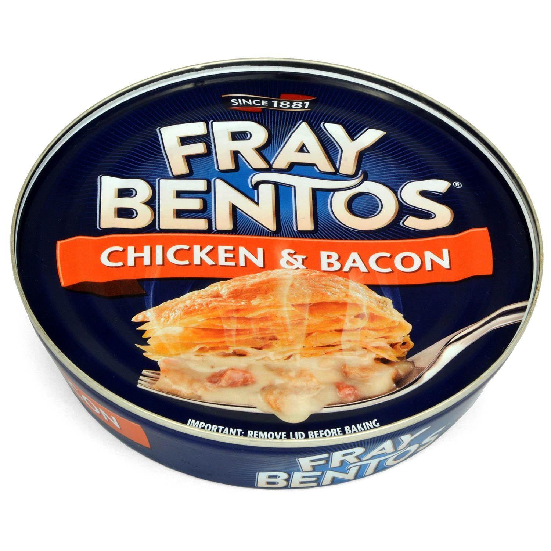Fray Bentos Chicken & Bacon Pie 425g - Fleischpastete mit Hähnchen und Räucherspeck