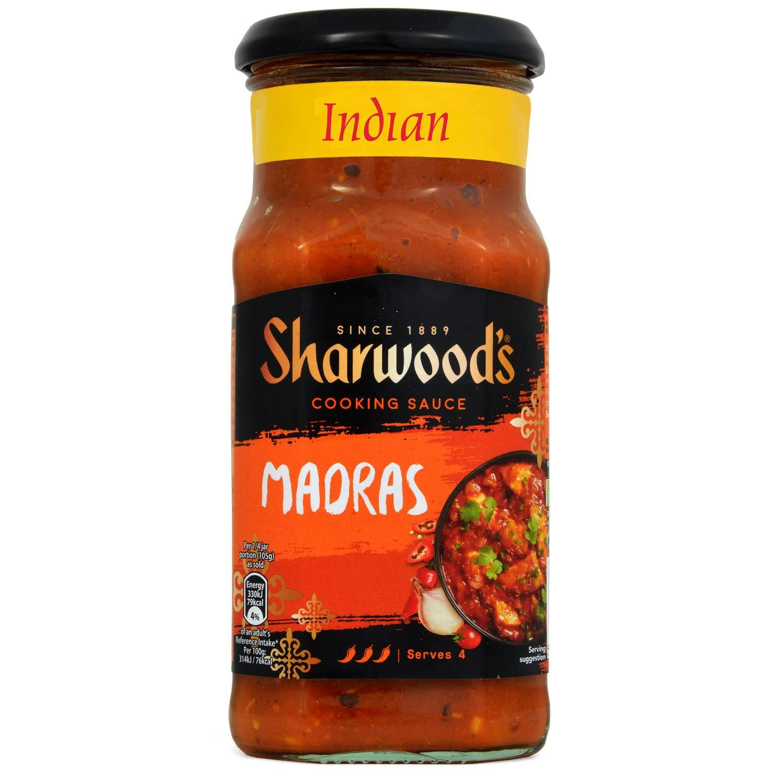 Sharwood´s Madras Cooking Sauce - Kochsoße, Madras Art