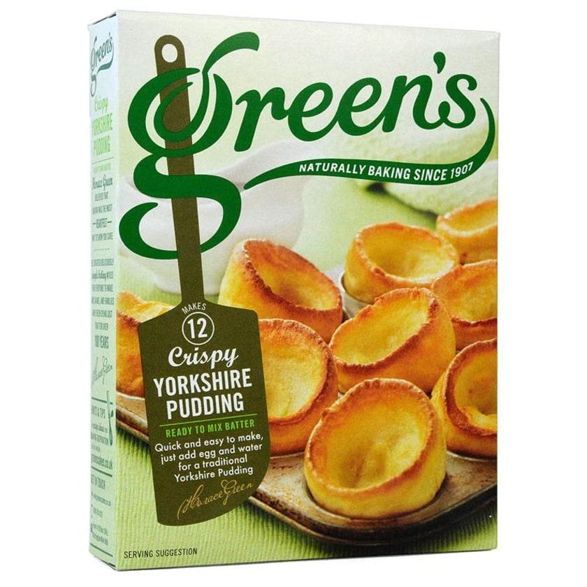 Greens Batter Mix für Yorkshire Puddings Mischung für Yorkshire Puddings