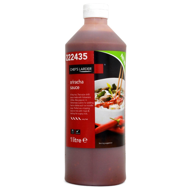 Chefs Larder Sriracha Sauce 1 Liter - Sauce