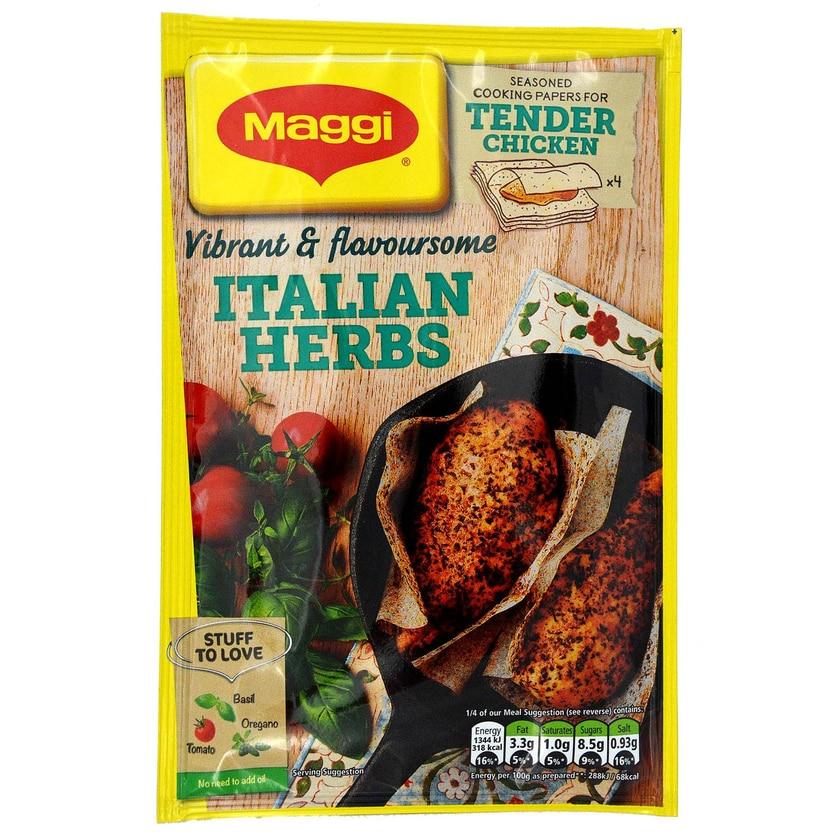 Maggi So Tender Chicken Italian Herbs 23g Kochpapier