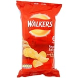 Walkers Ready Salted Pack Kartoffelchips gesalzen 6 x 25g