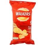 Walkers Ready Salted, 6 x 25g Pack - Kartoffelchips, gesalzen