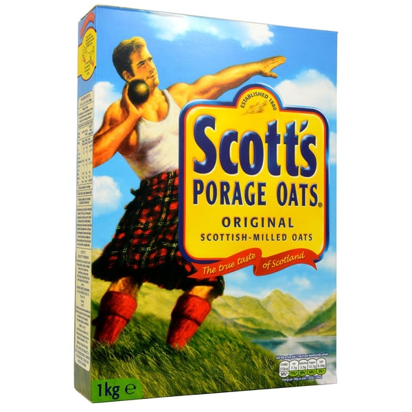 Scotts Porage Oats 1kg Porridge - Schottische Haferflocken