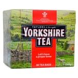 Yorkshire Tea 80 Teebeutel - 250g - Schwarztee in Teebeuteln