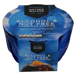Matthew Walker Alcohol & Nut Free Christmas Pudding 400g - Weihnachtspudding, nuss- und alkoholfrei