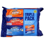 McVities Triple Pack Keks-Sortiment 900g