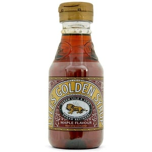 Lyle´s Pourable Maple Flavour Golden Syrup 454g - mit Ahorn-Aroma