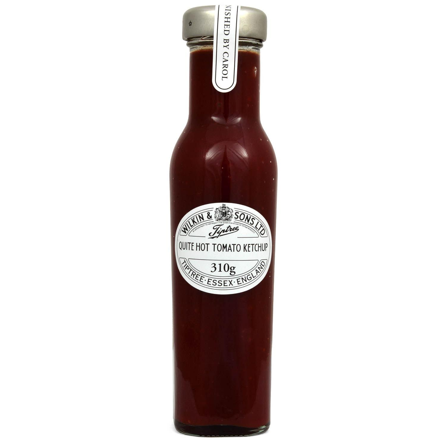 Wilkin & Sons Tiptree Quite Hot Tomato Ketchup - Tomatenketchup