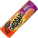 Jacobs Cheddars Smoky BBQ 150g Käse-Cräcker Grill-Geschmack