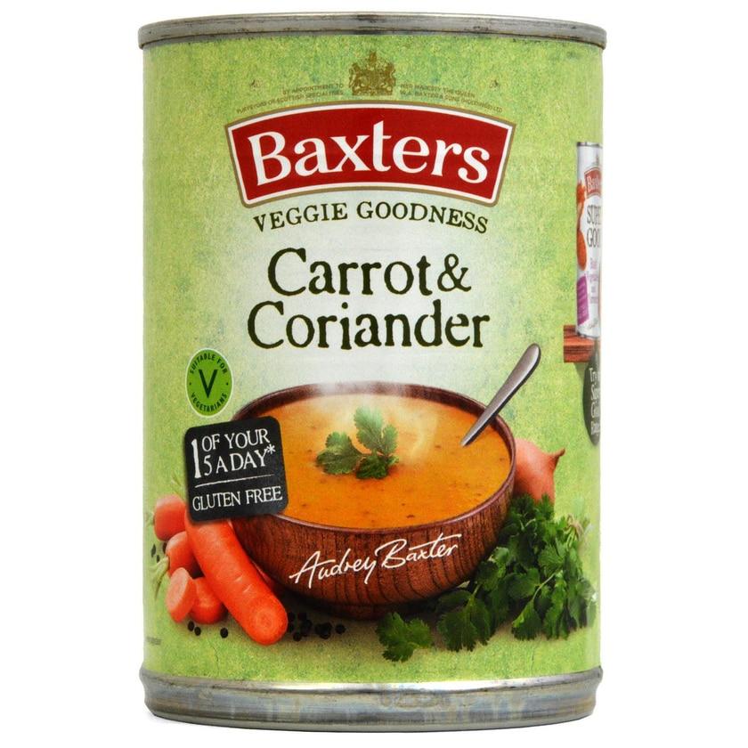 Baxters Vegetarian Carrot & Coriander Soup 400g - Karotten-Koriander-Suppe
