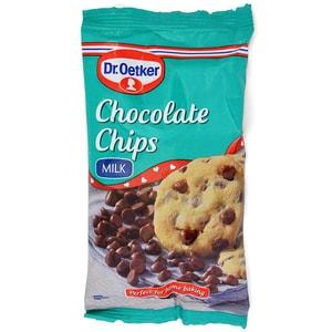 Dr. Oetker Milk Chocolate Chips - Milchschokolade-Stückchen