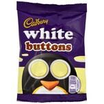 Cadbury White Buttons weiße Schokolinsen 33g