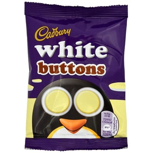 Cadbury White Buttons - weiße Schoko-Linsen
