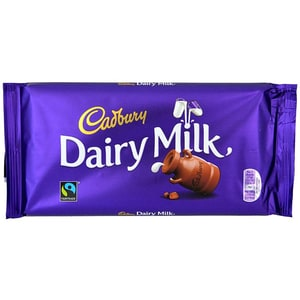 Cadbury Dairy Milk Chocolate 200g Fairtrade - Milchschokolade