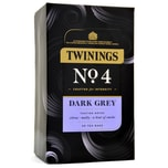 Twinings No.4 Dark Grey 40 Tea Bags 80g