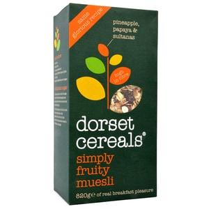 Dorset Cereals Simply Fruity Muesli ohne Nüsse 820g