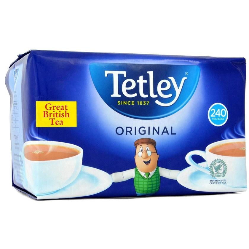 Tetley Tea 240 Teebeutel Schwarztee in Teebeuteln 750g