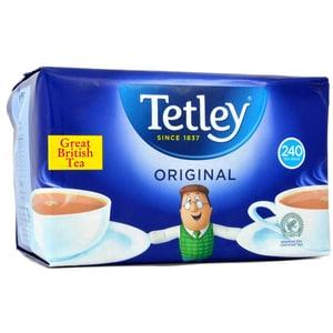 Tetley Tea 240 Teebeutel - 750g - Schwarztee in Teebeuteln