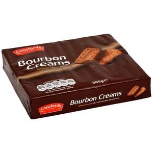 Crawfords Bourbon Creams 300g - Doppelkekse mit Kakaocreme