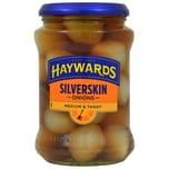 Haywards Medium Silverskin Onions 400g Silberzwiebeln in Aufguss Abtropfgewicht 215g