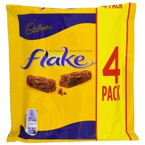 Cadbury Flake 4er-Pack - Milchschokoladenriegel