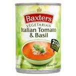 Baxters Vegetarian Soup Italian Tomato & Basil 400g - Tomatensuppe mit Basilikum