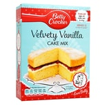 Betty Crocker Velvety Vanilla Cake Mix 425g - Kuchen-Backmischung