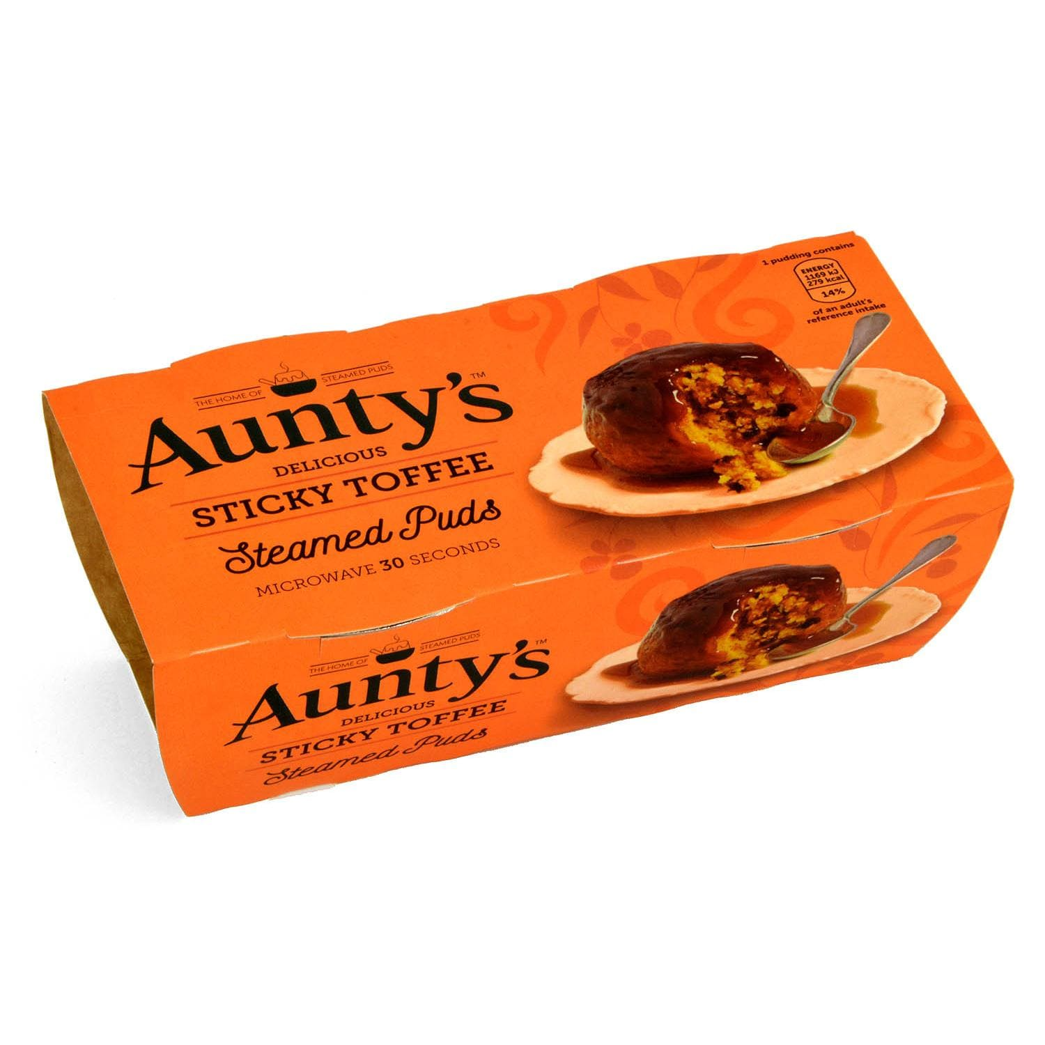Aunty´s Sticky Toffee Sauce Steamed Puddings - Dessert-Kuchen mit Toffee-Soße