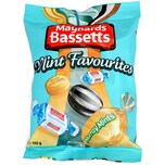 Maynards Bassetts Mint Favourites 192g - Pfefferminzbonbons