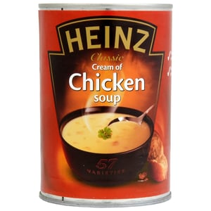 Heinz Cream of Chicken Soup 400g - Gebundene Hühnersuppe