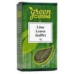 Green Cuisine Kaffir Lime Leaves 4g Kaffir-Limettenblätter