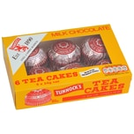 Tunnocks Milk Chocolate Teacakes - Schaummasse auf Biskuit in Vollmilchschokolade