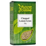 Green Cuisine Chopped Lemon Grass Zitronengras gerebelt 25g