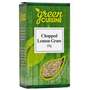 Green Cuisine Chopped Lemon Grass 25g Zitronengras, gerebelt