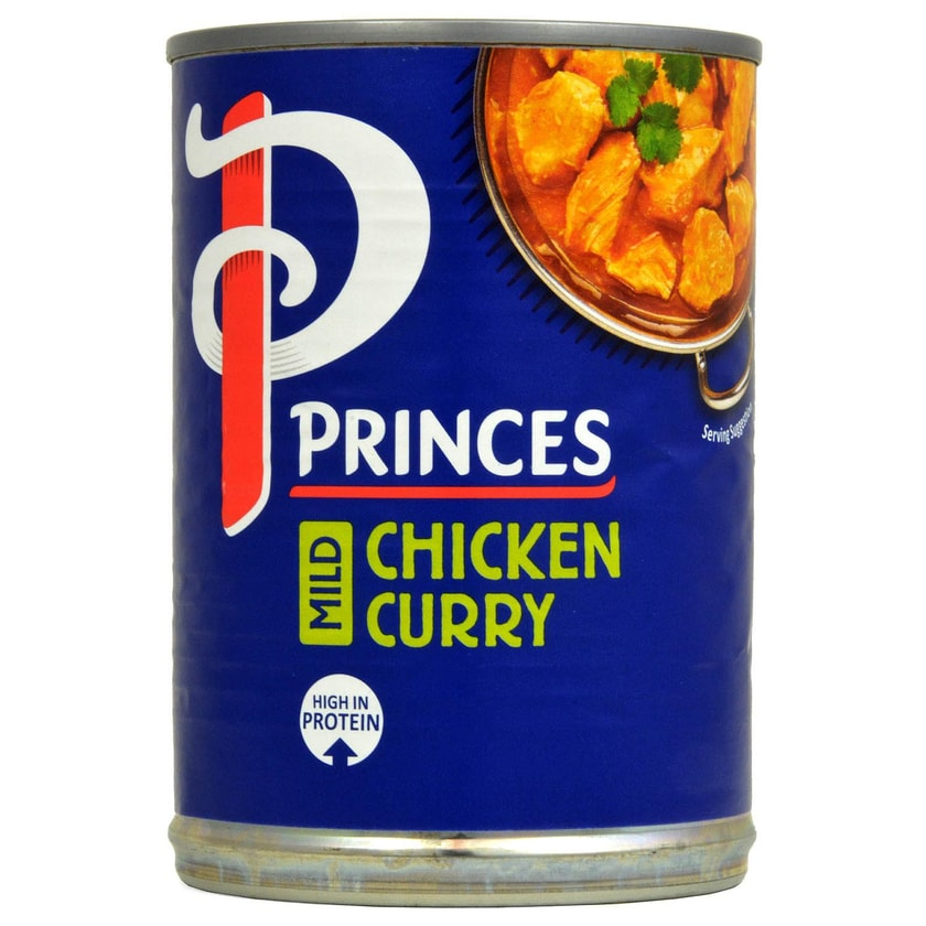 Princes Mild Chicken Curry 392g - Hähnchenbruststücke in Curry-Sauce