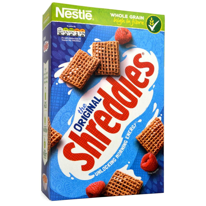 Nestle Original Shreddies 675g - Vollkorn-Getreidekissen