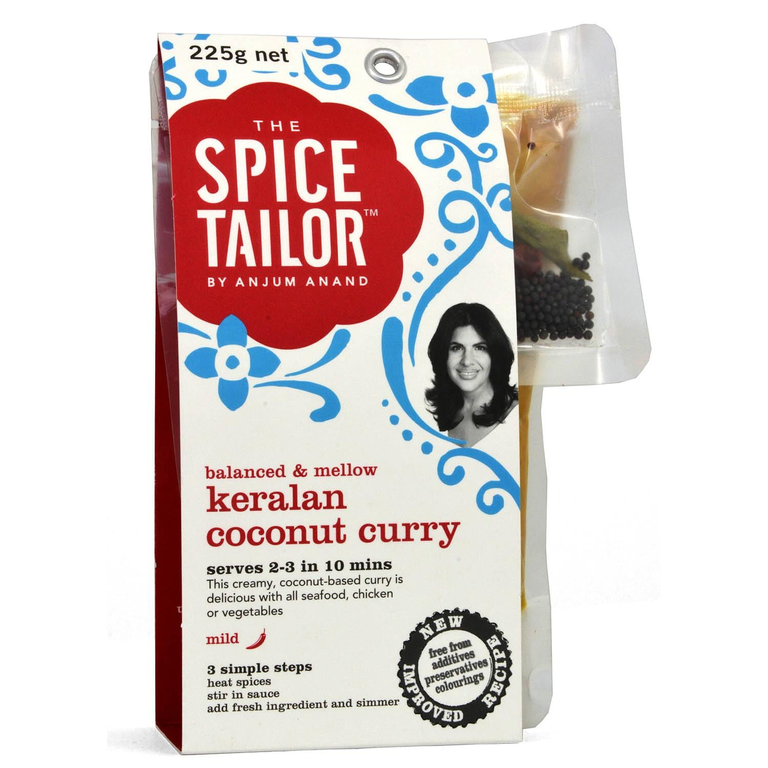 The Spice Tailor Keralan Coconut Curry 225g - Kochsoße, indisch