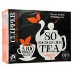 Clipper 80 Fairtrade Tea Bags 250g - Schwarztee in Teebeuteln
