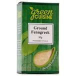 Green Cuisine Ground Fenugreek 50g - Bockshornklee, gem.