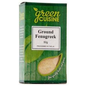 Green Cuisine Ground Fenugreek 50g - Bockshornklee, gem.