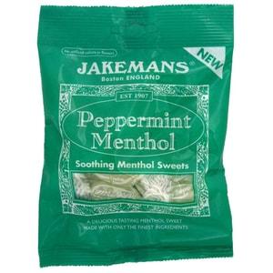 Jakemans Peppermint Menthol Sweets 100g - Mentholbonbons
