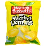 Maynards Bassetts Sherbet Lemons Zitronen-Bonbons mit Brause-Füllung