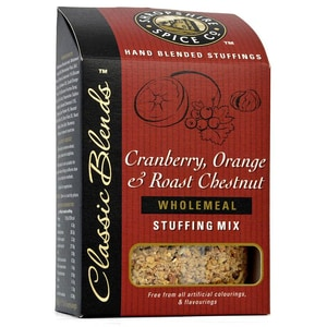 Shropshire Cranberry, Orange & Chestnut Stuffing Mix - Füllung für Fleisch mit Cranberry, Orange und Kastanie