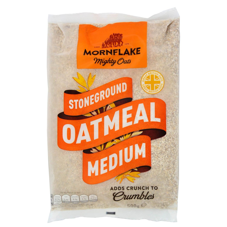 Mornflake Medium Oatmeal 500g - Hafermehl, mittelgrob