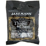 Jakemans Throat & Chest Sweets Anis-Eukalyptus Mentho-Bonbons 100g