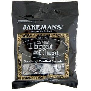 Jakemans Throat & Chest Sweets 100g - Anis-Eukalyptus Mentho-Bonbons