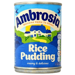 Ambrosia Devon Creamed Rice Pudding - 400g Milchreis